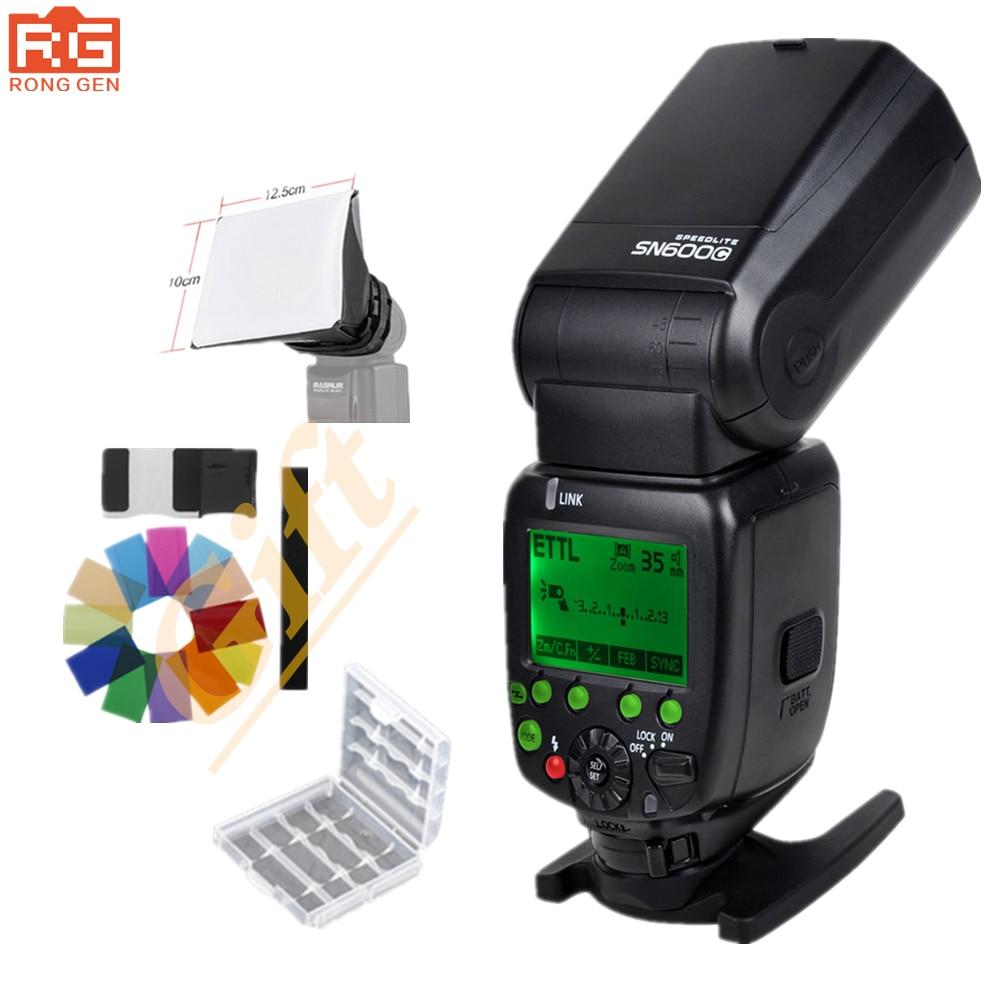 SHANNY SN600C Luce del Flash Speedlight HSS 1/8000 S On-camera TTL GN60 Lampeggiatore Speedlite per CanonSHANNY SN600C Luce del Flash Speedlight HSS 1/8000 S On-camera TTL GN60 Lampeggiatore Speedlite per Canon