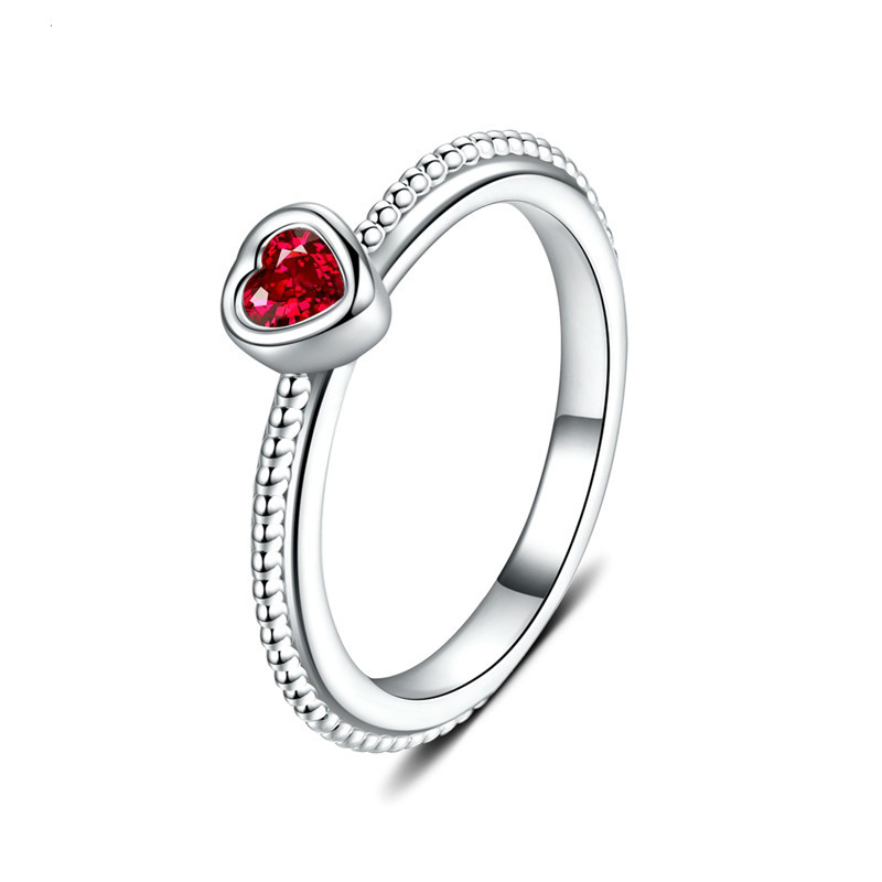 jingyang romantic wedding heartshaped jewelry Austrian crystal Fashion ring for valentines day gift Drop shipping