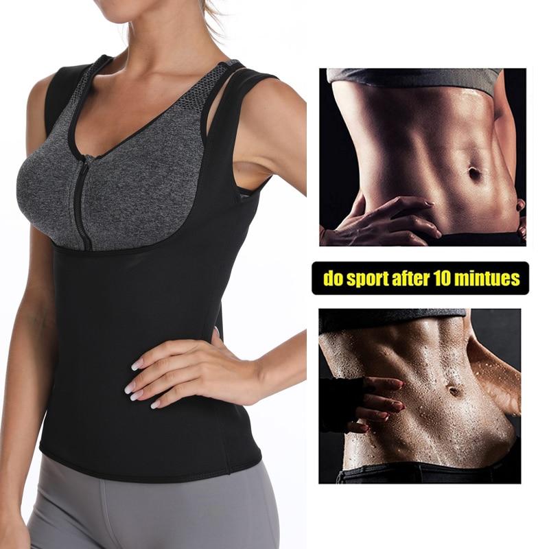 Miss Moly Women Neoprene Shapewear Push Up Vest Waist Trainer Cincher Slimming HOT Thermo Sauna Sweat Body Shaper TOP Corset US