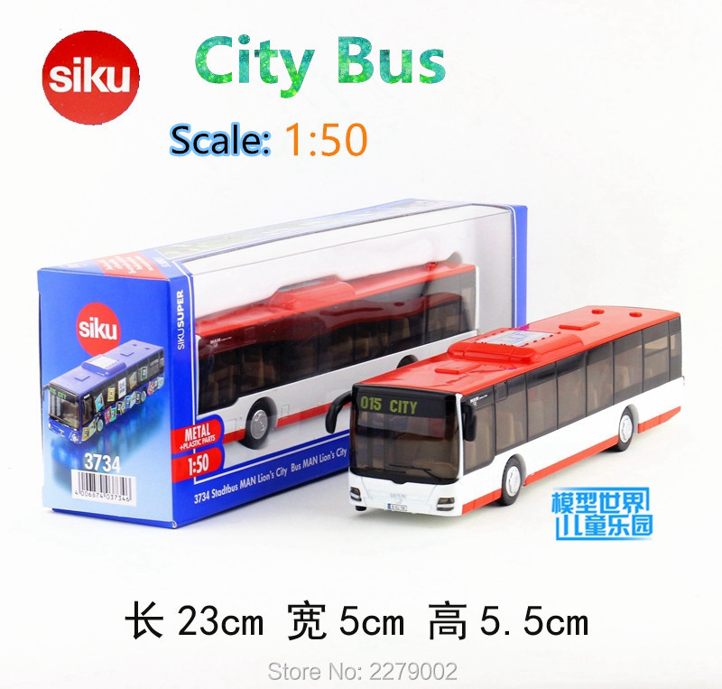 SIKU 1:50/Diecast Metal Model/Simulation toy:MAN Lion's City bus/Educational Children's festival gift or for collection/Limited