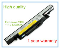 Laptop Battery For L11S6R01 Y490 Y490A Y490N Y490P Y490M Y500 Y500N 6 Cell