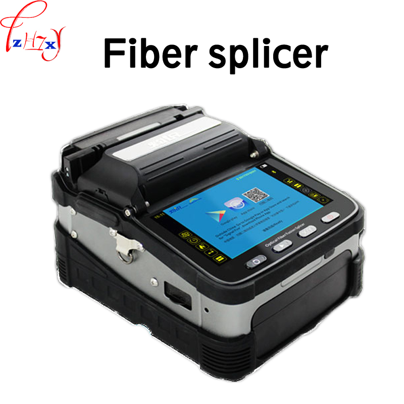 1 шт. AI 7 240 в 100 полностью автоматическая оптическое волокно сварочный аппарат умный джемпер волоконно оптический кабель конец волоконно сва