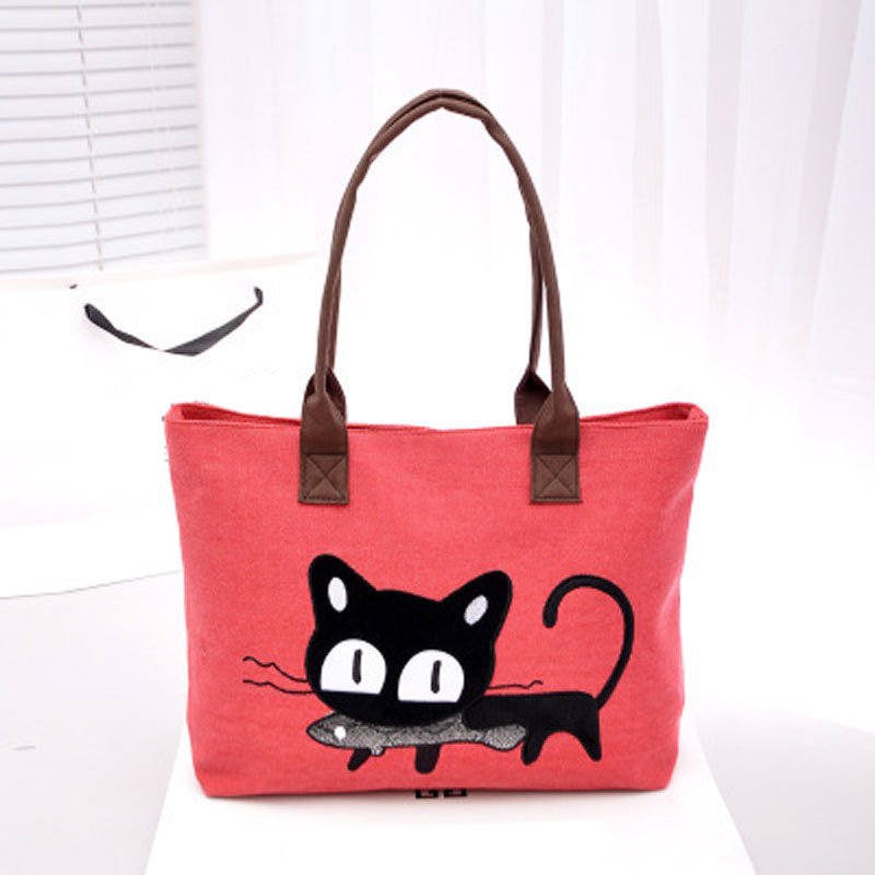 Popular Cute Canvas Tote Bags-Buy Cheap Cute Canvas Tote Bags lots ...