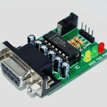 Rs232-ttl rs232 ttl stc микроконтроллер программист max232 com-ttl линия