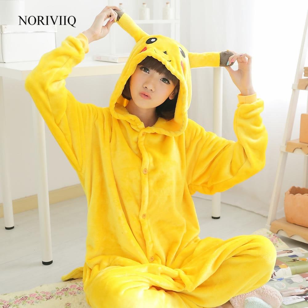 Anime Pikachu Pyjamas Unisex Costumes Unisex Pokemon Adult&Kids Cosplay Fancy Dress Love Live Cosplay Fantasias 03