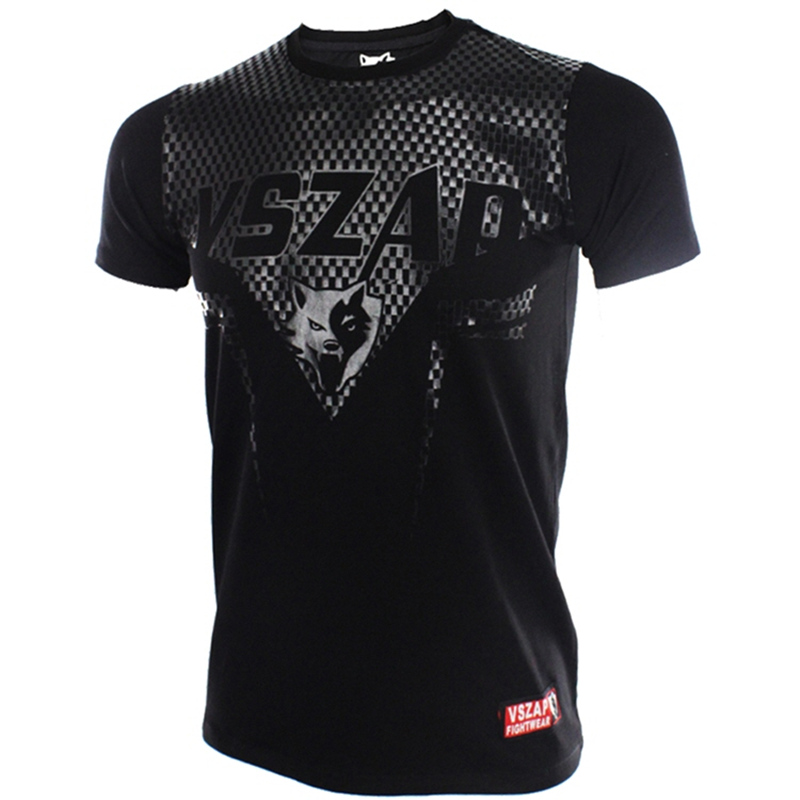 VSZAP SHARP Tshirt Men MMA Clothing Muay Thai Tees Mma Jerseys Graphic MMA Muscle T-shirt