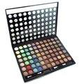 Cosméticos Shimmer Matte Eyeshadow Palette Pro 77 Full Color Sombra mineral À Prova D' Água Kit Conjunto de Pincel de Maquiagem