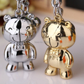 [1 pair] Free Shipping New Product Romantic Couple Gift Animal Bear Key chain 3010-11