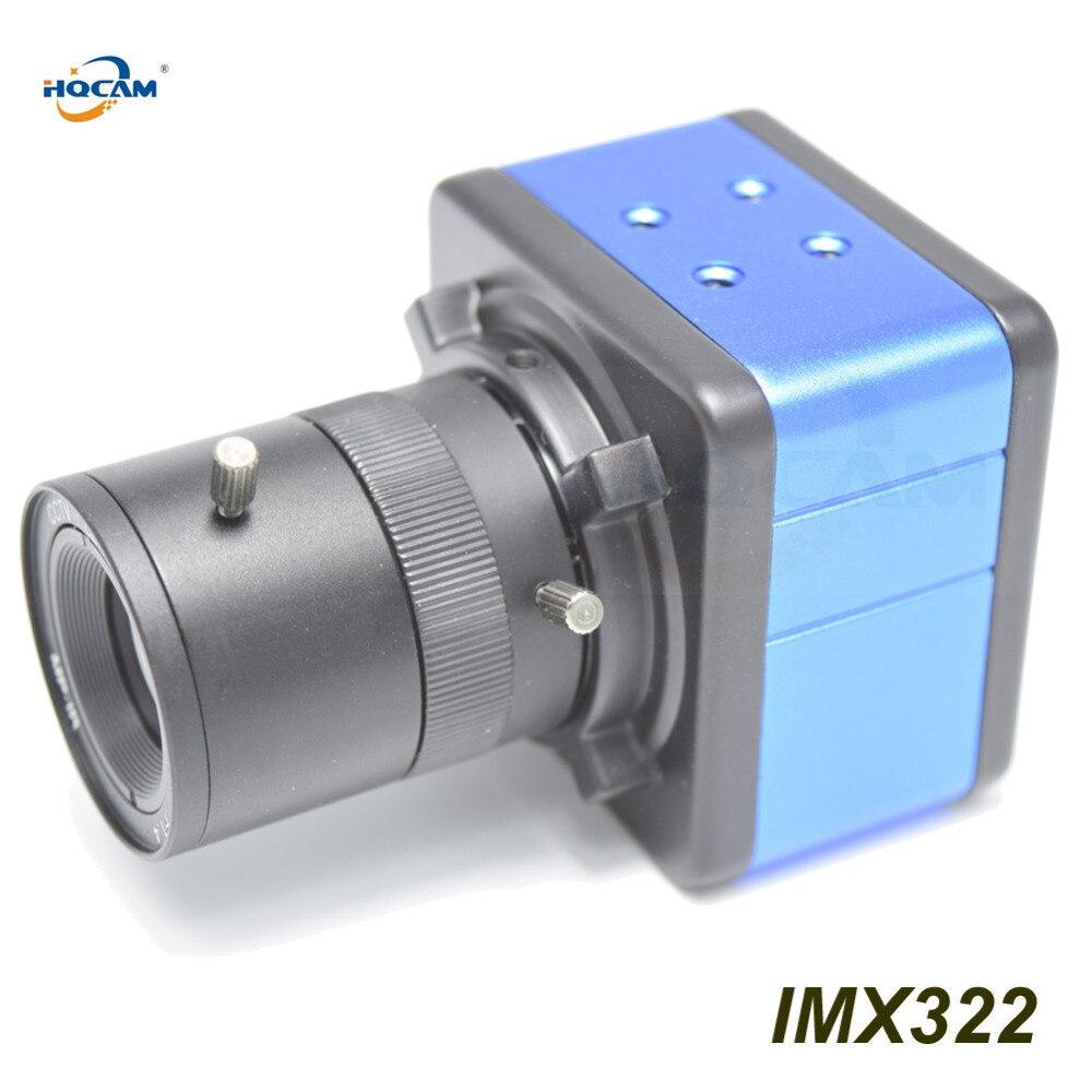 HQCAM 1080P IMX323+HI3516C IP Small MINI BOX Camera 2.0MP CCTV Camera MINI IP Camera security 3.5-8mm manual varifocal zoom lenn