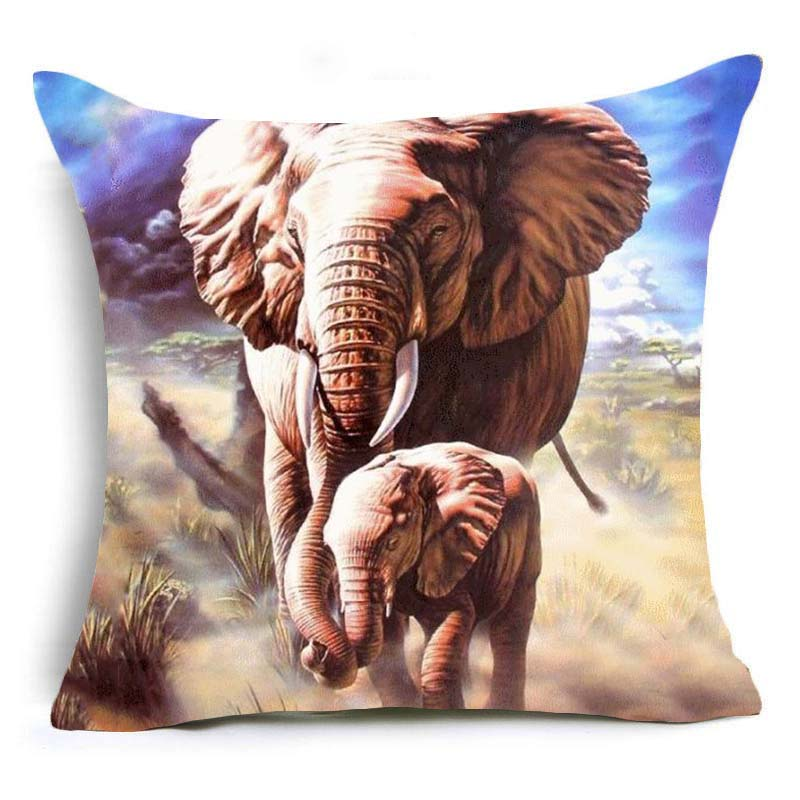 Decorative Animal Pillowcases