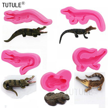 Alligator Animal Swamp Zoo Resin Polymer Clay Mould,3D Crocodile Silicone Mold for Polymer Clay Food Safe Flexible Mold пластилин polymer clay aoyu 24 24 3d