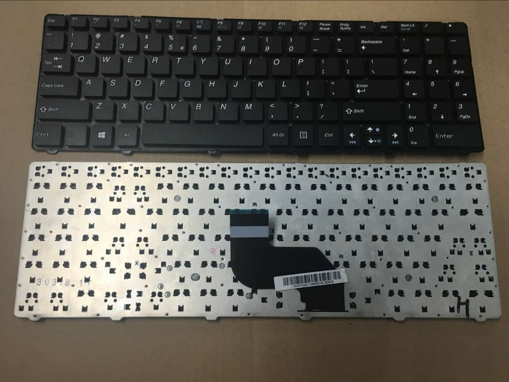 NEW US Laptop Keyboard for MSI CR640 CX640 A6400 V128862AS2 0KN0-XVIUI01 Without frame laptop keyboard for sony svs13a1v9e svs13a1w9e svs13a1w9s svs13a1x8r svs13a1x9e black without frame nordic ne se