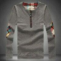 2014 New Spring Summer Autumn Man T Shirt Male Pullover Plus Size M 3XL 4XL 5XL