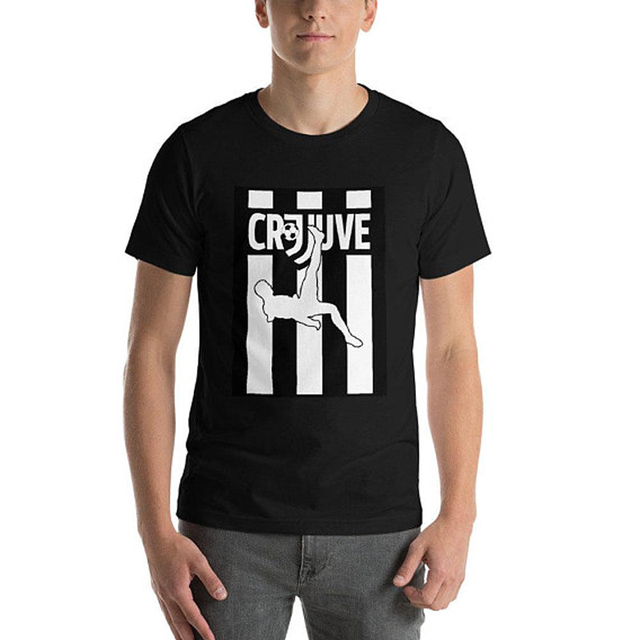 huge discount ca64c fa8b4 US $9.45 |CR7 JUVE TShirt Cristiano Ronaldo Juventus tshirt cr7 Juve jersey  Welcome Juventus Tees Summer Hip Hop Casual Cotton Tops Tees -in T-Shirts  ...