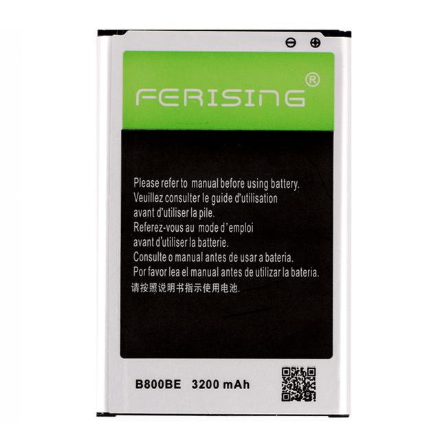 Ferising B800BE B800BC B800BU Battery For Samsung Galaxy Note 3 Note3 III N9000 N9005 N9008 N7200 SM-N900 3200mAh Phone Battery