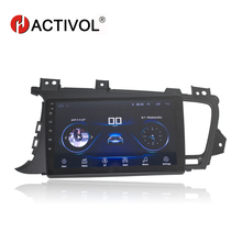 "HACTIVOL 9"" 1024*600 Quadcore android 8.1 car radio for KIA Optima K5 2011 2012 2013 2014 2015 car DVD player gps navi wifi"