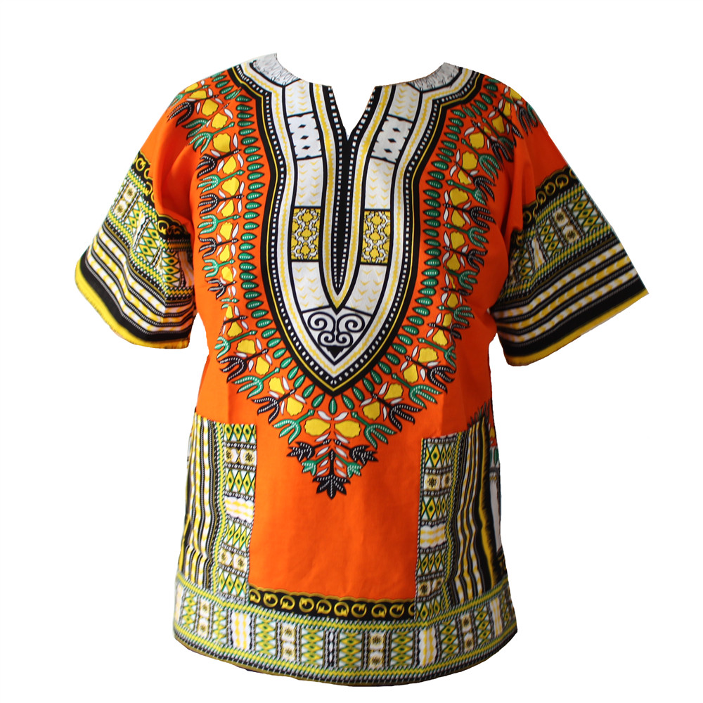 2016 XXXL PLUS SIZE African Fashion Dashiki Design Floral Dress African Traditional Print Dashiki Dress For Men And Women