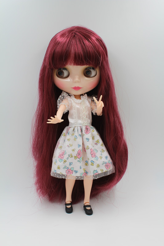 Free Shipping Top discount JOINT DIY Nude Blyth Doll item NO. 218J Doll limited gift special price cheap offer toy USA for girl free shipping big discount rbl 11 15 diy nude blyth doll birthday gift for girl 4 colour big eyes with beautiful hair cute toy