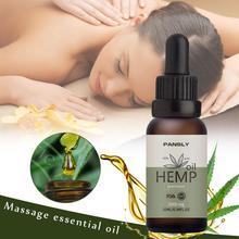 10ML Hemp Seed Oil Body Massage Essential Essence Improve Sleep Facial Hemp Oil