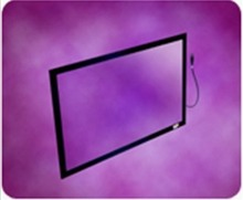 """65"""" 2 points touch screen panel kit usb / ir touch overlay for all in one PC computer,touch ,etc, driver free, plug and play"""