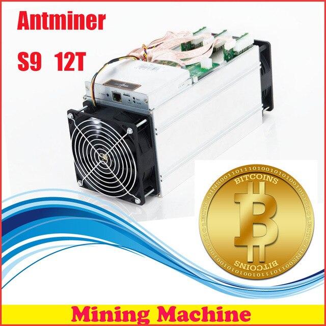 FREIES VERSCHIFFEN FIREPANGS Bergbau Maschine AntMiner S9 S 118 T Bitcoin Miner