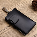 2014 New,High quality cowhide men's genuine leather car key wallet, mens fashion key case bags, real skin coin purse bag TCKW09