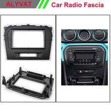 Car CD DVD GPS Radio stereo face facia surround trim Kit for SUZUKI Vitara 2015 Stereo