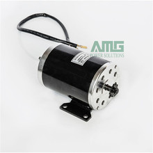 MY1020 750W DC 36V/48V/60V 2800rpm high speed brush motor for electric tricycle, Electric Scooter motor, gear type