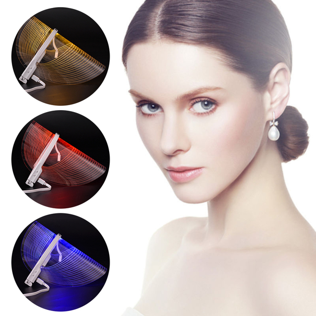 LED Light Wrinkle Removal Therapy Face Mask 1