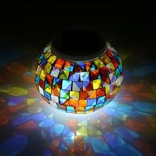 Садовый светильник на солнечной батарее, меняющий цвет, декоративный Настольный светильник для улицы, оборудование для кемпинга, Мультитул, инструменты для улицы