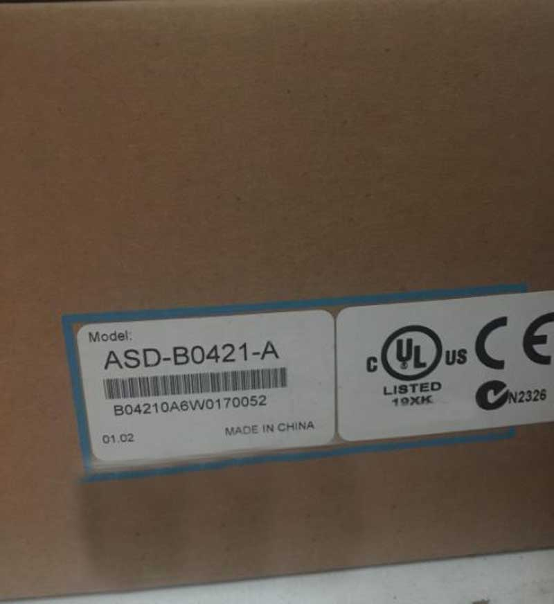 New Original Delta Servo DRIVER Controller ASD-B0421-A 400W new original detla driver asd a2 2043 m