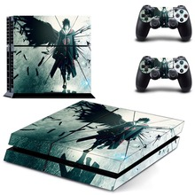Uchiha Sasuke NARUTO Vinyl Decal Skin Sticker Cover for Sony PS4 PlayStation 4 and 2 controller skins