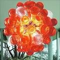 AC110V-240V ручной работы из выдувного стекла подвесные светильники энергосберегающие для свадебного декора