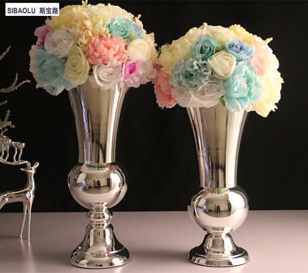 18 Silver Flower Vase For Wedding Decoration Flower Vases For Homes
