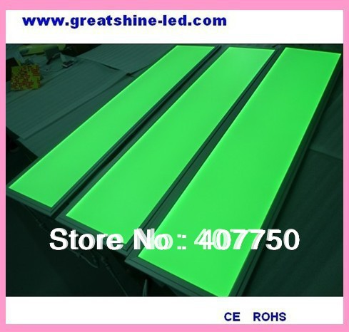 300x1200mm ultra SMD 5050 RGB led panel light 33w  2 sides lit 4pcs/Lot used for entertainment  centres and villas