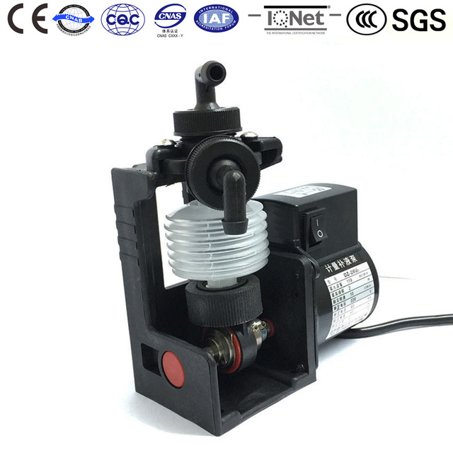 Doing Water Pump DZ-2XU2 220V AC Chemical Metering Developing Replenish Pumps Etching cleaning of electronic basicplate printing