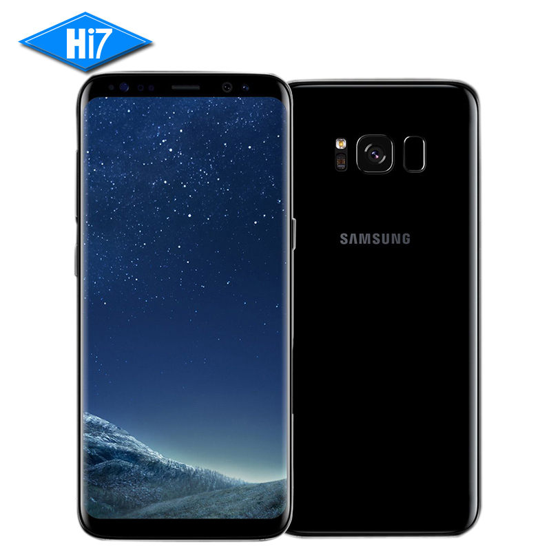 NEW Original Samsung Galaxy S8 Mobile Phone Dual SIM 5.8 inch Octa Core 4GB RAM 64GB ROM 4G LTE Smartphone 3000mAh 12MP Android