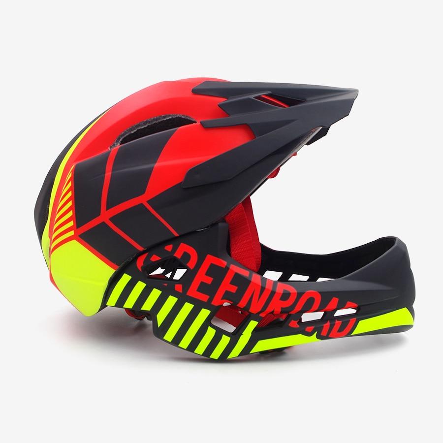 new Cycling Helmet Ultralight Bicycle Helmet In mold gree Trial Cycling Helmets OFF ROAD MTB Bike