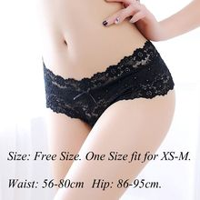 Sexy Lady Underwear Lace Floral Briefs Thongs Sheer Transparent Panties Seamless Breathable G-string