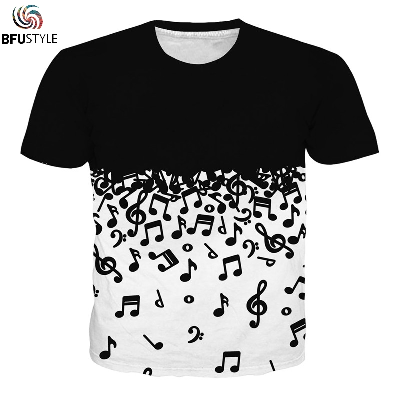 Music 3D T Shirt Men Women 2019 Short Sleeve O Neck Summer Tops Casual Tee Shirt Homme All Over Printed Graphic T-shirts