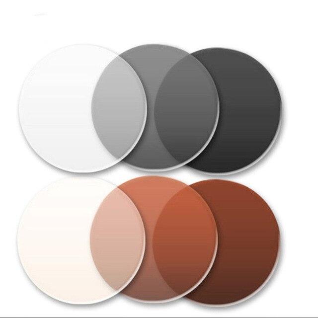 Lentille de Prescription asphérique optique photochromatique 1.56 lentilles myopiques