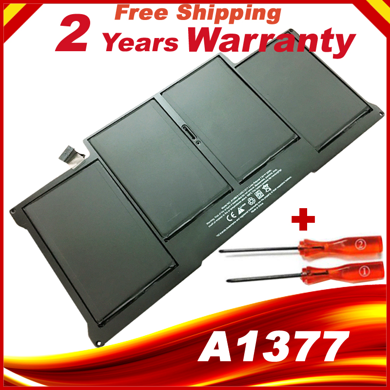 NEW Laptop Battery For Apple Macbook Air 13 A1369 [2010 Production] Replace A1377 free shipping hsw rechargeable battery for apple for macbook air core i5 1 6 13 a1369 mid 2011 a1405 a1466 2012