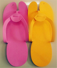 Cute Disposable Flip Flop Slippers Foot Spas Pedicure For Nail Toe Salon(China)