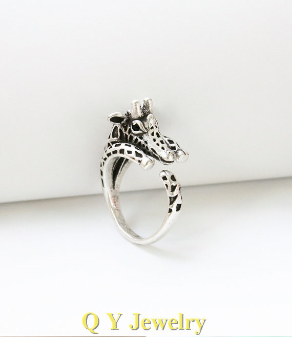 punk steel from stainless wedding product engagement oval animal for new men design ring fashion horse steeljewelry bands rings