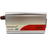 SYGSESOLAR Power Inverter 12v 220v 1500W DC to AC Auto 12 220 Cigarette Lighter Plug Converter 50Hz/60Hz for home car