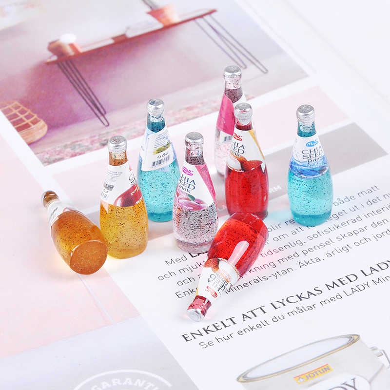 2Pcs Keuken Kamer Bergen Drinken ถ้วยสำหรับ Pop DIY Miniatuur Poppenhuis Koffie ถ้วย Mini World Poppen อุปกรณ์เสริม