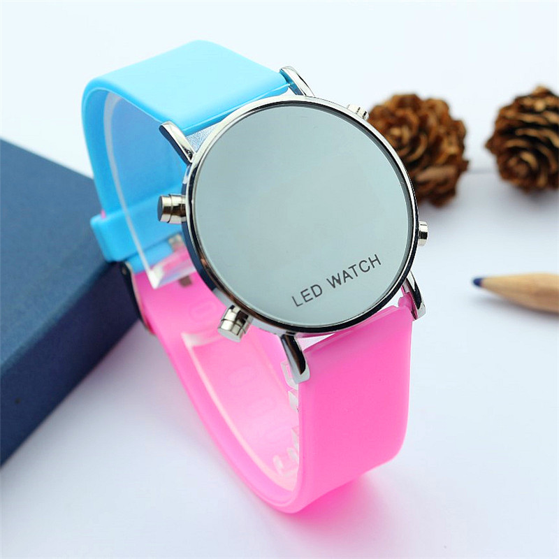 Promotion Luxury Brand Women Man Sports Digital Watch Fashion Gift Watches For Student Dress Relogio Couple Children Led Watch