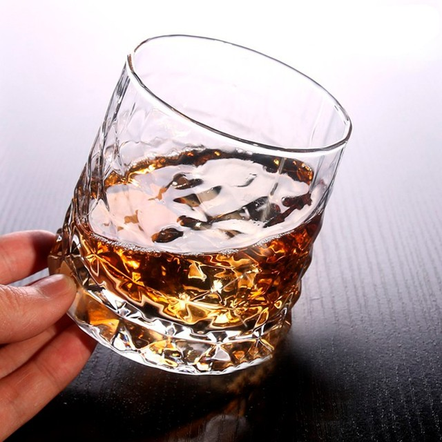 Retro Style Crystal Whiskey Glass