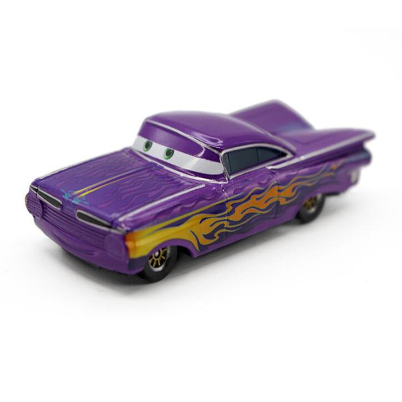 Cars Disney Pixar Cars 2 & Cars 3 Purple Ramone 1:55 Metal Alloy Diecast Toy Car Loose Brand New In Stock