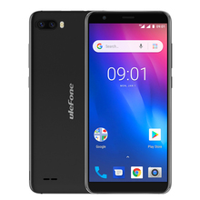 Ulefone S1Pro 5.5 inch Mobile Phone 18:9 MTK6580 Quad Core 1GB RAM 8GB ROM Android 8.1 3G Smartphone 8MP+5MP Rear Dual Cameras